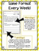 Word Work Weekly Activities for 1st Grade - FREE SAMPLE