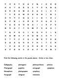 FREE Words Their Way Greek and Latin Elements Sort 28 Word Search