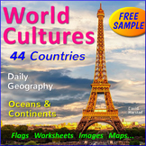 FREE - World Cultures - 3 Posters