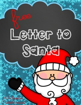 Write a Letter to Santa ~ from my Polar Express Mega Bundle