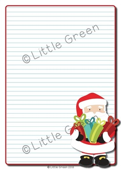 {FREE} Write a Persuasive Letter to Santa for Christmas