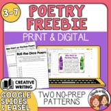 Two Fun Poetry Patterns: Roll the Dice Poem and Fact or Fi