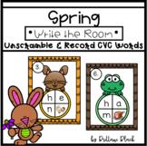 FREE CVC Spring Write the Room