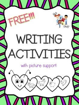 FREE! Writing Activities with Picture Support