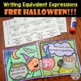 FREE Writing Equivalent Expressions Partner Activity (Hall