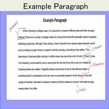 FREE Writing Format for ANY grade and ANY subject