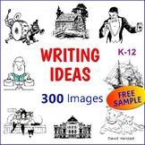 """FREE - Writing Ideas - """"Skyclear Castle"""" (K-8)"""