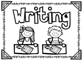 FREE Writing Label for the Interactive Notebook