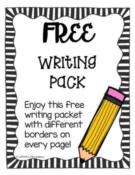 FREE Writing Pack