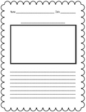 FREE Writing Paper With Picture Box!