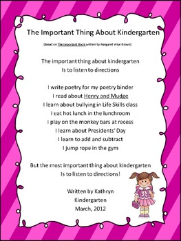 FREE Writing Poetry With Primary Students Based on Children's Literature-Intro