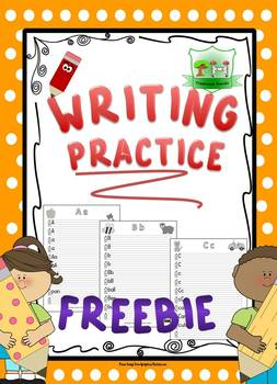 FREE ABC Writing Practice