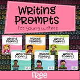 FREE Writing Prompts For Young Writers