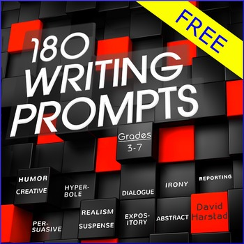 FREE - Writing Prompts: Grades 3-7 (PowerPoint)