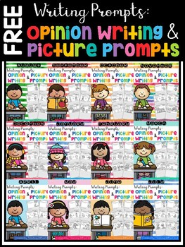 FREE Writing Prompts : Opinion Writing & Picture Prompts