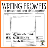 FREE Writing Prompts and Drawing Worksheets for Preschool