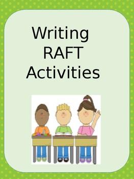 FREE Writing RAFT Activities