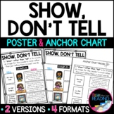 FREE Writing Strategies Poster: Show, Don't Tell Poster &