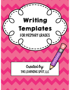 FREE Writing Templates for Primary Grades