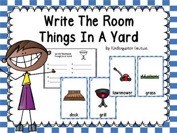 FREE Yard Write The Room