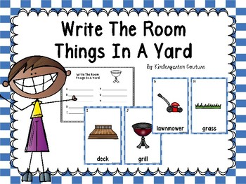 Yard Write The Room