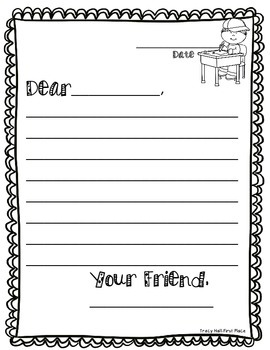 original-1630712-4 A Friendly Letter Template For First Grade on