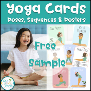 FREE Yoga Pose Cards for Kids - A Calming Brain Break Activity