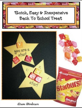 """FREE """"You're A Star!"""" Treats For Testing Time or Back To School"""