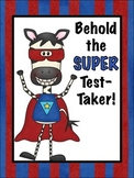 Freebie! Super Test-Taker Poster & Bookmarks