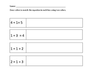 FREE addition exit ticket