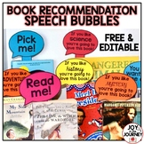 Book Recommendations Classroom Display - FREE and EDITABLE