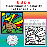 FREE b d p q  Discrimination Color by Letters TURKEY Color