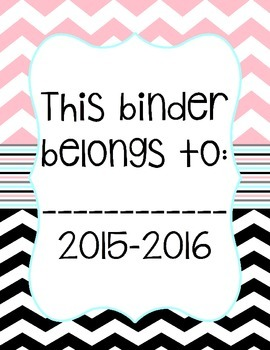 *FREE* binder overs