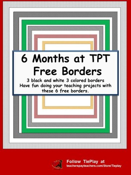 FREE Back to School Borders for Commercial and Personal Use