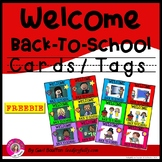 FREE download! Welcome Back-To-School Cards/Tags