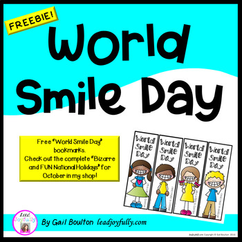 """FREE download! """"World Smile Day"""" (October 2nd!)"""