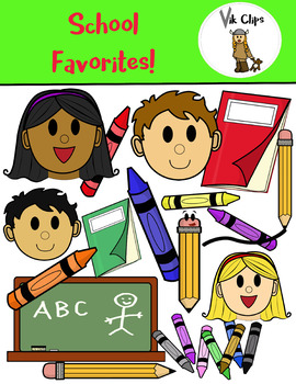 FREE download of School Favorites (Vik Clips Clipart)