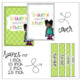 FREE editable SPINE LABELS for Binders