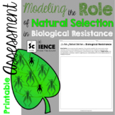 Modeling the Role of Natural Selection in Biological Resistance Assessment
