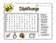 Diphthongs aw and au Word Searches