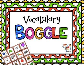 Vocabulary Boggle