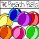 Beach Stuff Clipart Set