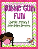 Bubble Pop! Spanish Articulation Game
