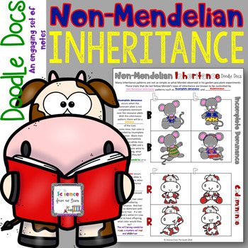 Non-Mendelian Inheritance Doodle Docs for Teaching Incomplete and Codominance