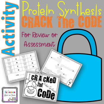 Protein Synthesis Crack the Code and Escape the Room Activity