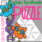 Protein Synthesis Puzzle for Review or Assessment