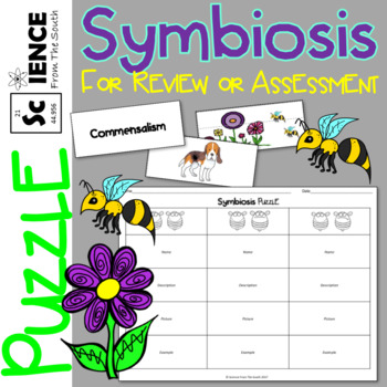 Symbiosis Puzzle for Teaching, Reviewing, Or Assessing