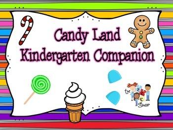 Candyland Kindergarten Companion