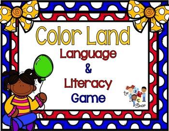 Color Land Language-Literacy Game