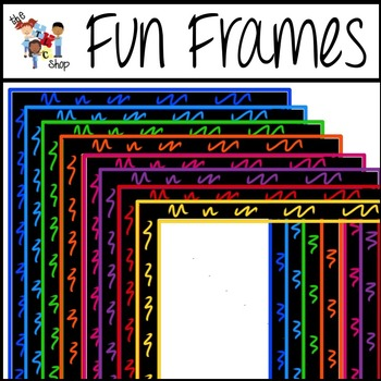 Fun and Funky Frames